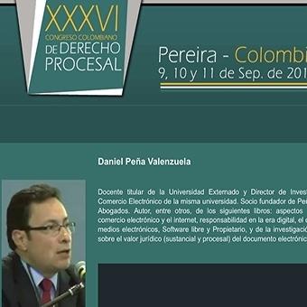 XXXVI Congreso Colombiano de Derecho Procesal