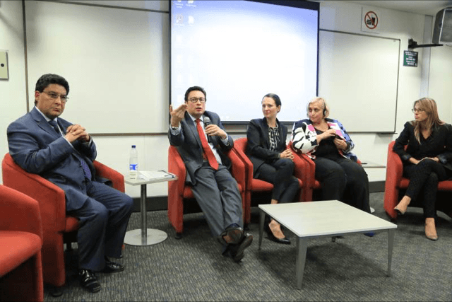 """Daniel Peña, socio de PM ponente en el evento """"Las consecuencias jurídicas de la """"uberización"""" de la economía de la Universidad Externado"""