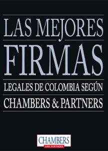 The best law firms in Colombia as Chambers & Partners - PM Abogados
