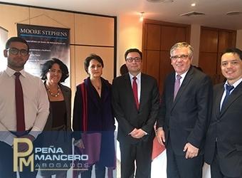 El socio Daniel Peña participó en el foro sobre RNBD de la Cámara de Comercio Colombo Ecuatoriana