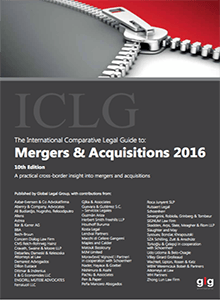 Mergers and Acquisitions 2016