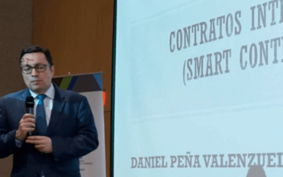 Partner Daniel Peña participates in the conference: smart contracts of the Commission for Commercial Practices of the CCI
