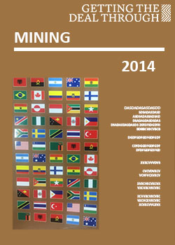 Getting the Deal Through – Mining  2014